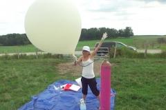 Near-Space Balloon Launch 1