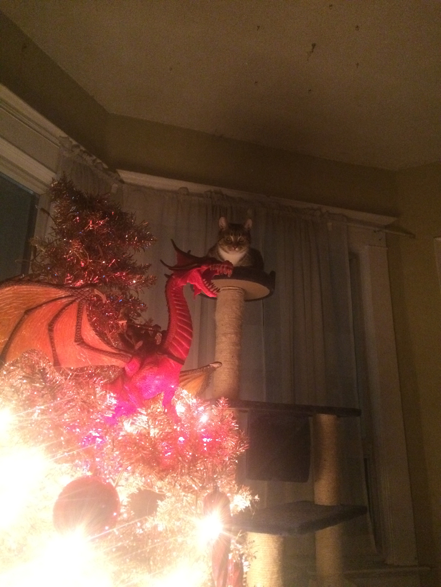 Hanging Christmas Tree From Ceiling